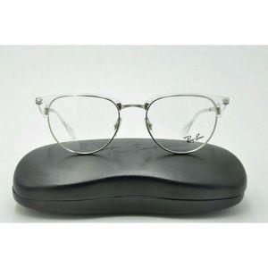Ray Ban RB 6396 Eyeglasses 2936 Silver Frames